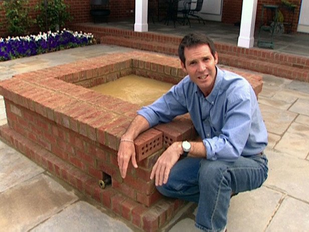 Pick from these 4 awesome fire pits wny handyman for Diy brick fire pit