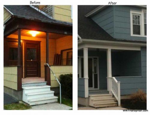 Simple Porch Column Plans – Wrap your ugly 4×4