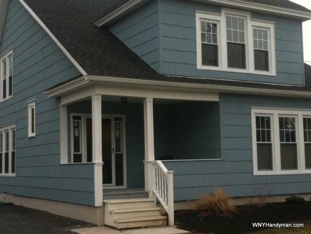 Simple Porch Column Plans Wrap Your Ugly 4x4 Wny Handyman