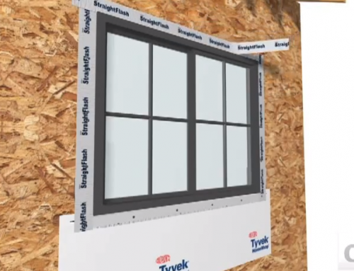 How to Properly Tape and Flash a New Construction Window