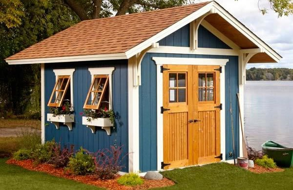 Custom shed plans