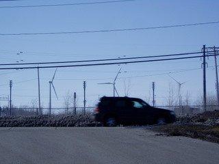 Lackawanna windmills near buffalo ny