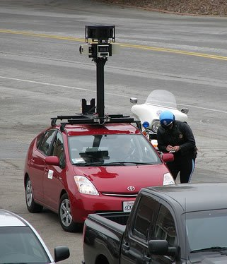 Street view vehicle
