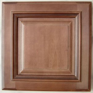 Chestnut glazed maple kitchen cabinets