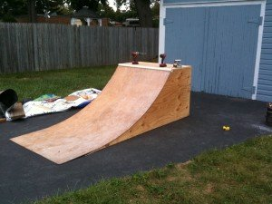 Nate's Skate Ramp