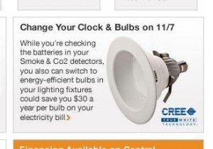 Energy Efficient LED Bulb