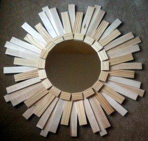Shim Mirror - A mirror made from shims