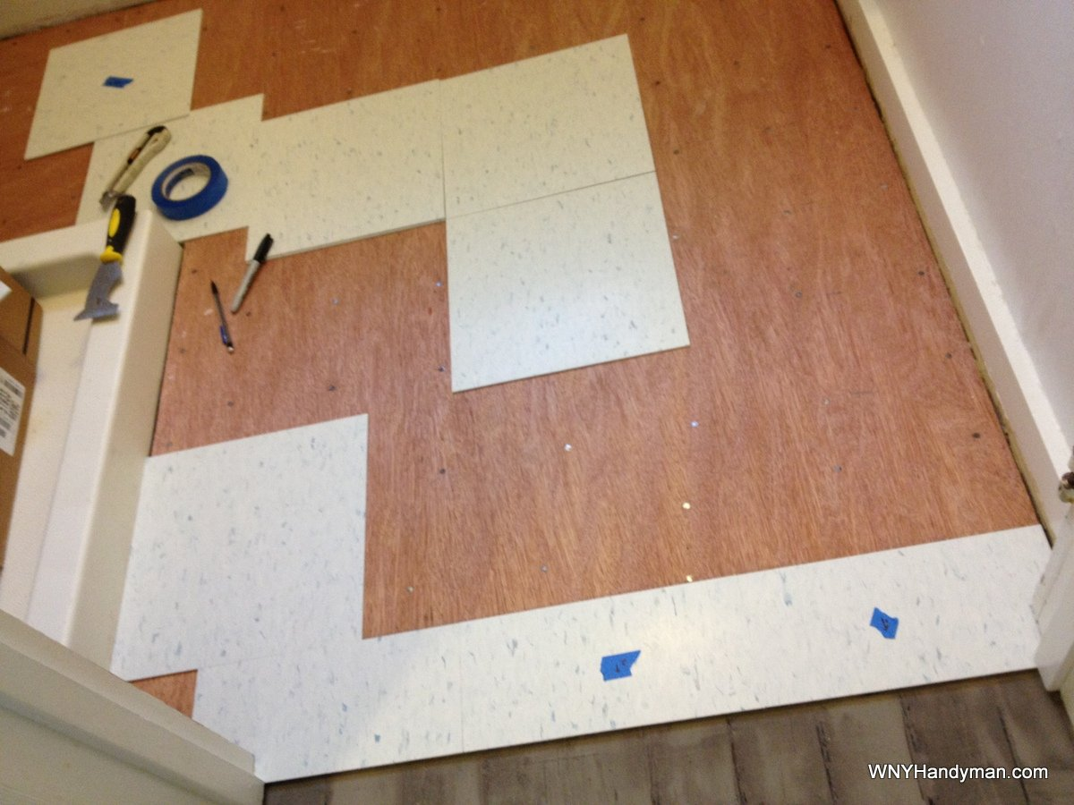 Installing vct tile six things they dont tell you wny handyman dailygadgetfo Gallery