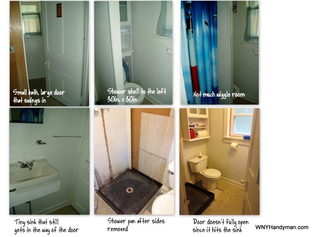 cottage bath - before