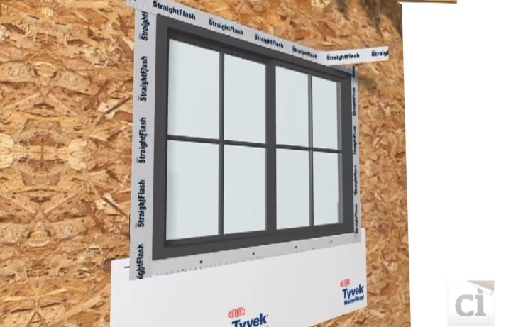 How to properly tape and flash a new construction window for New construction windows reviews