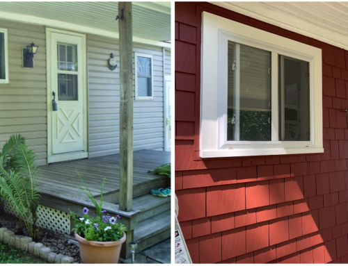 Before and After Cottage – Siding and Colors
